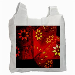 Star Light Christmas Romantic Hell Recycle Bag (one Side) by Celenk