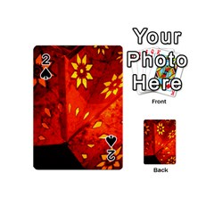 Star Light Christmas Romantic Hell Playing Cards 54 (mini)  by Celenk