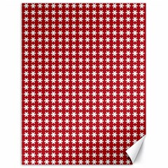 Christmas Paper Wrapping Paper Canvas 18  X 24   by Celenk