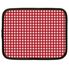 Christmas Paper Wrapping Paper Netbook Case (xxl)  by Celenk
