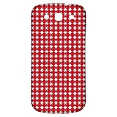 Christmas Paper Wrapping Paper Samsung Galaxy S3 S Iii Classic Hardshell Back Case by Celenk