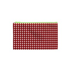 Christmas Paper Wrapping Paper Cosmetic Bag (xs) by Celenk