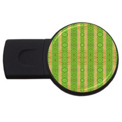 Seamless Tileable Pattern Design Usb Flash Drive Round (4 Gb) by Celenk