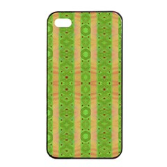 Seamless Tileable Pattern Design Apple Iphone 4/4s Seamless Case (black) by Celenk