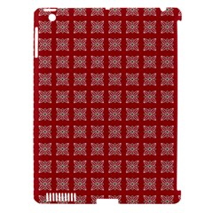 Christmas Paper Wrapping Paper Apple Ipad 3/4 Hardshell Case (compatible With Smart Cover) by Celenk