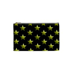 Stars Backgrounds Patterns Shapes Cosmetic Bag (small)  by Celenk