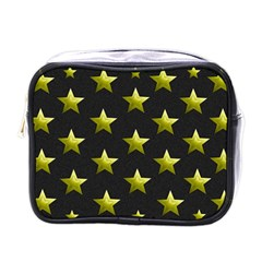 Stars Backgrounds Patterns Shapes Mini Toiletries Bags by Celenk