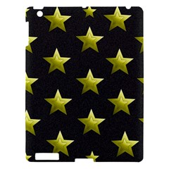 Stars Backgrounds Patterns Shapes Apple Ipad 3/4 Hardshell Case by Celenk