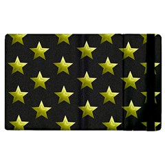 Stars Backgrounds Patterns Shapes Apple Ipad 3/4 Flip Case by Celenk