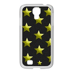 Stars Backgrounds Patterns Shapes Samsung Galaxy S4 I9500/ I9505 Case (white) by Celenk