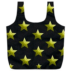 Stars Backgrounds Patterns Shapes Full Print Recycle Bags (l)  by Celenk