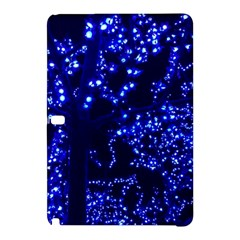 Lights Blue Tree Night Glow Samsung Galaxy Tab Pro 12 2 Hardshell Case by Celenk