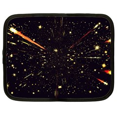 Star Sky Graphic Night Background Netbook Case (xl)