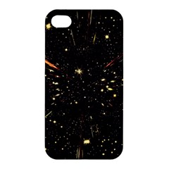 Star Sky Graphic Night Background Apple Iphone 4/4s Premium Hardshell Case by Celenk