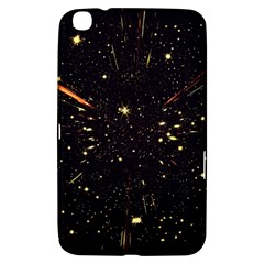 Star Sky Graphic Night Background Samsung Galaxy Tab 3 (8 ) T3100 Hardshell Case  by Celenk