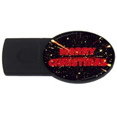 Star Sky Graphic Night Background Usb Flash Drive Oval (2 Gb) by Celenk