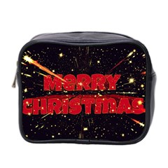Star Sky Graphic Night Background Mini Toiletries Bag 2 Side by Celenk