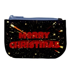 Star Sky Graphic Night Background Large Coin Purse by Celenk