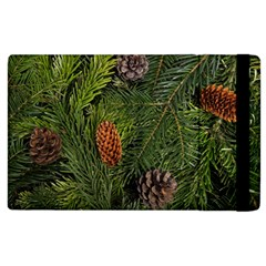Branch Christmas Cone Evergreen Apple Ipad 3/4 Flip Case by Celenk