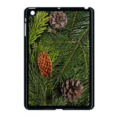 Branch Christmas Cone Evergreen Apple Ipad Mini Case (black) by Celenk