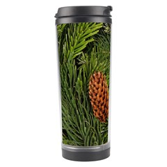Branch Christmas Cone Evergreen Travel Tumbler by Celenk