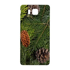 Branch Christmas Cone Evergreen Samsung Galaxy Alpha Hardshell Back Case by Celenk