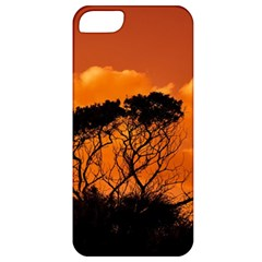 Trees Branches Sunset Sky Clouds Apple Iphone 5 Classic Hardshell Case by Celenk