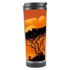 Trees Branches Sunset Sky Clouds Travel Tumbler by Celenk