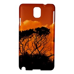 Trees Branches Sunset Sky Clouds Samsung Galaxy Note 3 N9005 Hardshell Case by Celenk