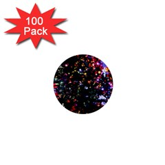 Abstract Background Celebration 1  Mini Buttons (100 Pack)