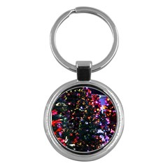 Abstract Background Celebration Key Chains (round)  by Celenk
