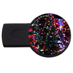 Abstract Background Celebration Usb Flash Drive Round (2 Gb) by Celenk