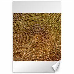 Background Gold Pattern Structure Canvas 20  X 30