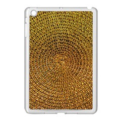 Background Gold Pattern Structure Apple Ipad Mini Case (white)
