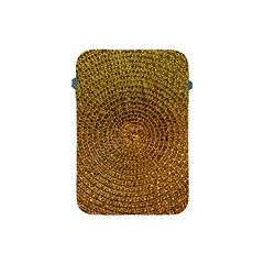 Background Gold Pattern Structure Apple Ipad Mini Protective Soft Cases by Celenk