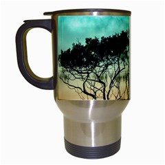 Trees Branches Branch Nature Travel Mugs (white) by Celenk