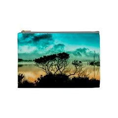 Trees Branches Branch Nature Cosmetic Bag (medium)  by Celenk