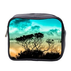 Trees Branches Branch Nature Mini Toiletries Bag 2 Side by Celenk