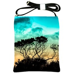 Trees Branches Branch Nature Shoulder Sling Bags by Celenk
