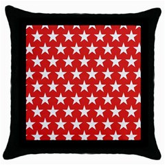 Star Christmas Advent Structure Throw Pillow Case (black) by Celenk
