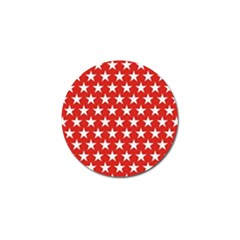 Star Christmas Advent Structure Golf Ball Marker (4 Pack)