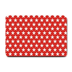 Star Christmas Advent Structure Small Doormat  by Celenk
