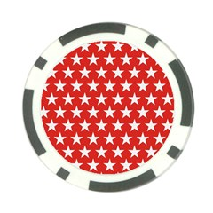 Star Christmas Advent Structure Poker Chip Card Guard (10 Pack) by Celenk