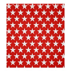 Star Christmas Advent Structure Shower Curtain 66  X 72  (large)  by Celenk