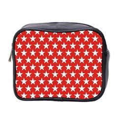 Star Christmas Advent Structure Mini Toiletries Bag 2 Side by Celenk