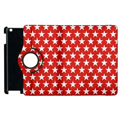 Star Christmas Advent Structure Apple Ipad 3/4 Flip 360 Case by Celenk