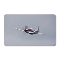 P 51 Mustang Flying Magnet (rectangular) by Ucco