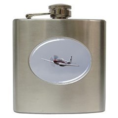 P 51 Mustang Flying Hip Flask (6 Oz) by Ucco