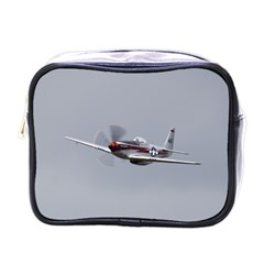P 51 Mustang Flying Mini Toiletries Bags by Ucco