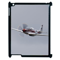 P 51 Mustang Flying Apple Ipad 2 Case (black) by Ucco